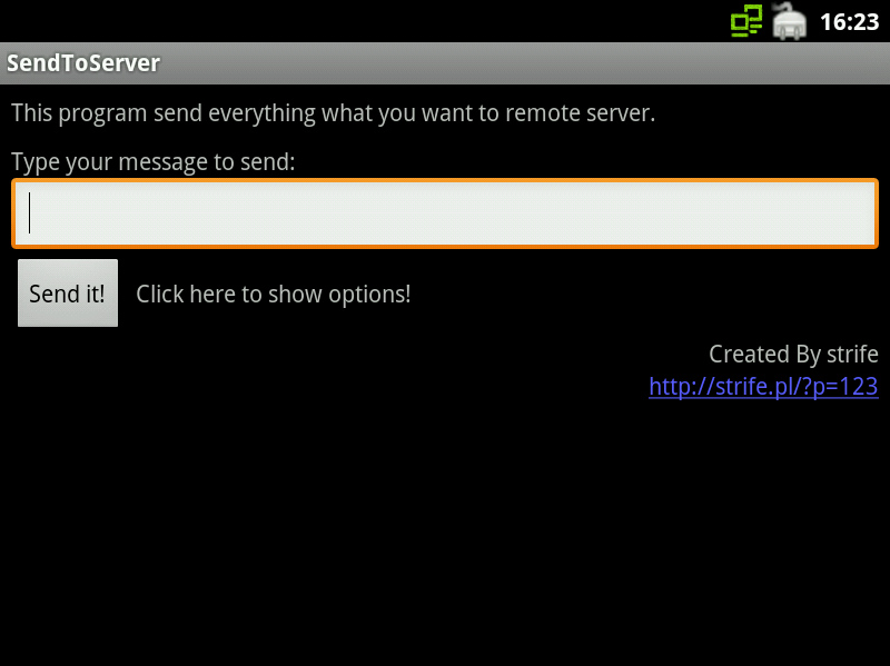 Android: How to Send Request (POST) to the Server (Full Application